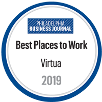 "Virtua named a ""Best Place to Work"" in the Delaware Valley."