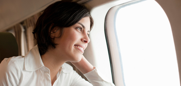 ease ear pain when flying