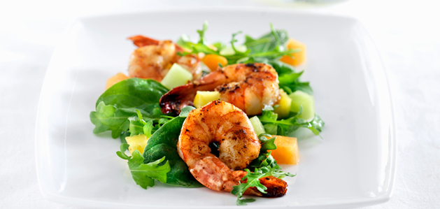 heart healthy recipse shrimp salad