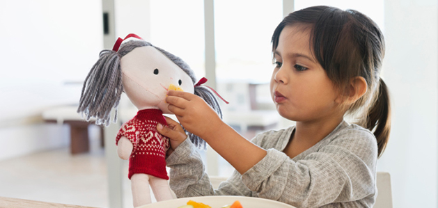 how a doll helps kids beat MRI fears