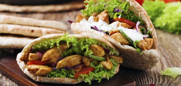 Mediterranean Chicken Pita Recipe - Virtua