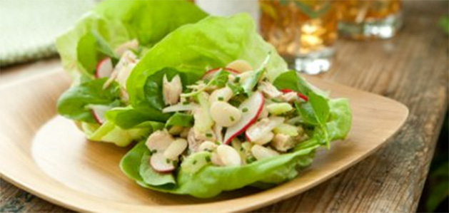 Tuna and White Bean Salad Healthy Recipe