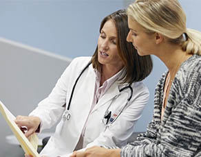 Diagnosing and treating patients with gynecologic cancers