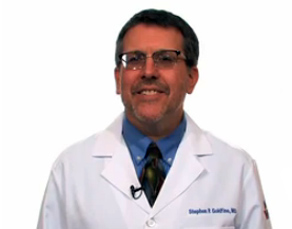 Dr. Stephen Goldfine, a family physician with Virtua