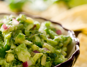 healthy recipe: skinny guacamole