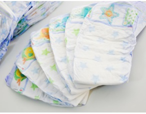 diapering small
