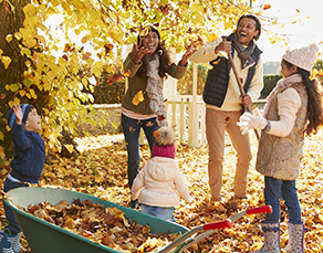 4 Tips to Avoid Injuries During Your Fall Leaf and Lawn Clean Up - Virtua PT & Rehab, NJ