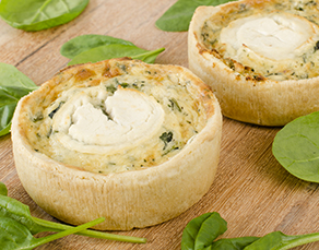 Recipe - Spinach Quiche