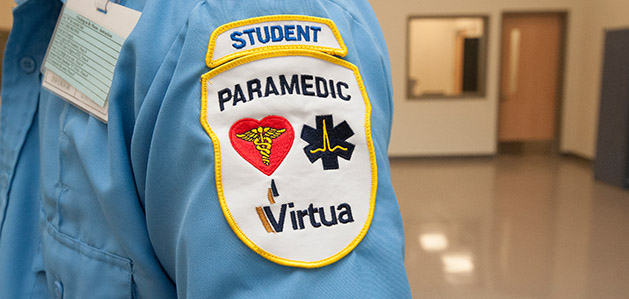 paramedic training at rowan college of burlington county